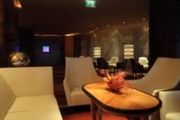 Marken-Innenarchitektur-Möbel-Vertrag-Hotel-Wartezimmer-Interieur-in-Leder-weiche Beleuchtung