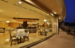 Marken-Innenarchitektur-Möbel-Vertrag-Schaufenster-Restaurant-Luxus-Großräume