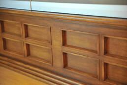 Marken-Innenarchitektur-Möbel-Installation-Detail-Theke-Eisdiele-Bar-Vitrine