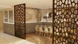 marques-design d'intérieur-meubles-design-restaurant-luxe-gusto-addis-ababa