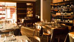 Marken-Innenarchitektur-Möbel-Restaurant-Esszimmer-rustikalen-Stil