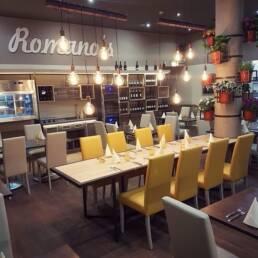 Schaffung-von-Möbeln-Innenarchitektur-Restaurant-in Rom