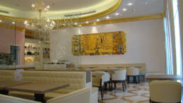 créations-design-d'intérieur-bar-aida-cafe-jeddah-arabie-saoudite-meubles-canapés-lounge