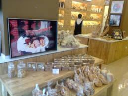 Kreationen-Innenarchitektur-Bäckerei-Ofen-Gastronomie-Einzelhandel-Holzregale