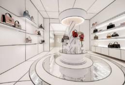 progettazione negozi arredo contract di lusso